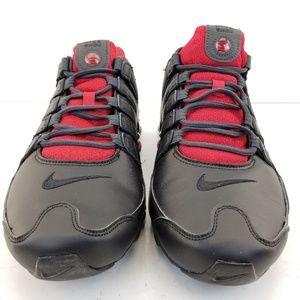 Nike Men's Shox NZ SE  Sz 13 Red/Black [833579 003